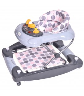 Baby walker, alergător educativ 3-în-1 ECOTOYS