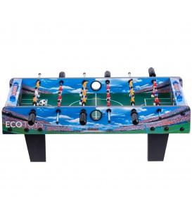 Fotbal de masă, masă de joc din lemn Ecotoys 70x36 cm