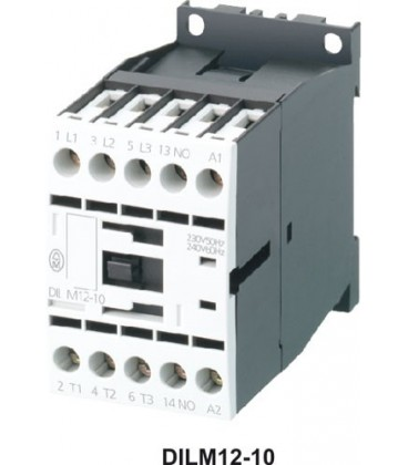 Contactor:tripolar Contacte auxiliare:NC Iînc max:12A 24VDC DILM12-01-24VDC