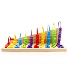 Abac de jucărie educațională, blocuri numerice ECOTOYS