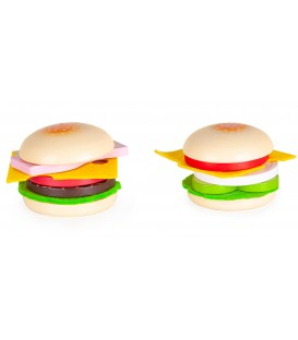 Jucarie Hamburger din lemn