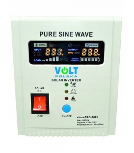 Invertor UPS SOLAR SINUSPRO-800S 12V 800 / 500W sinusPRO-800S 3SPS098012