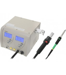 Staţie de service letcon si aer cald ZD-912 LUT0062 - Resigilat