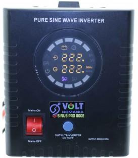 UPS VOLT Romania SInus PRO 800 VA 500W centrala termica baterie externa