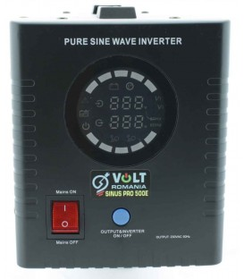 UPS VOLT ROMANIA SInus PRO 500 VA 350W pentru centrala termica (baterie externa)