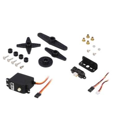 Senzor: distanţă infraroşu 5VDC analogică 0,01÷0,8m