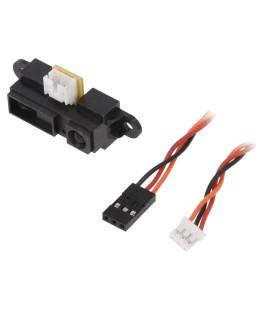 Senzor: distanţă infraroşu 4,5÷5,5VDC 0,1÷0,8m