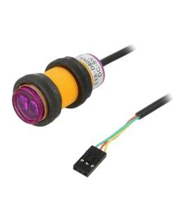 Senzor: distanţă infraroşu 5VDC analogică Canale: 1 30÷800mm