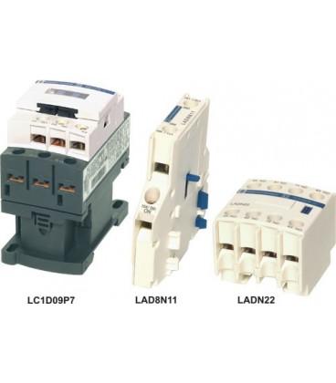 Contactor:tripolar Contacte auxiliare:NO + NC 50A 230VAC LC1D50P7