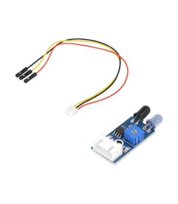 Senzor: distanţă infraroşu analogică,digital 20÷300mm 35°