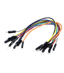 Cablu de conectare tată-tată PIN: 1 150mm Nr.buc: 10