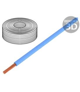 Cablu LiY litat Cu 0,25mm2 albastru PVC 900V 250m Clasa: 5