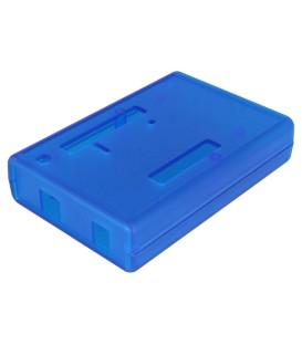 Carcasă pentru calculator ABS albastru, X: 75mm Y: 110mm Z: 25mm