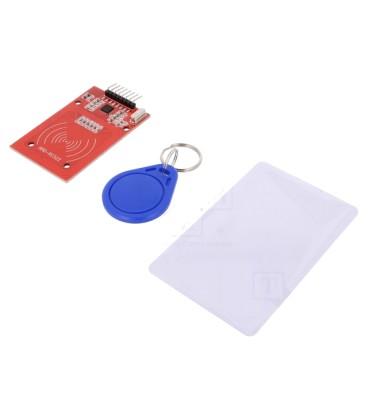 Modul: RFID 3,3VDC SPI 40x60mm carduri RFID,modul 13,56Hz