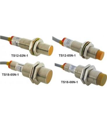 Senzor:inductiv Config.ieşire:NPN / NO 0÷5mm 10-30V DC 100mA TS18-05N-1