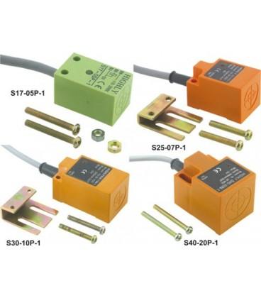 Senzor:inductiv Rază:0÷5mm Config.ieşire:PNP / NO 100mA S17-05P-1