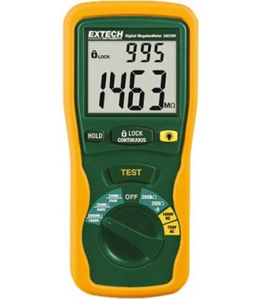 EXTECH 380260 - Aparat pentru măsurarea rezistenţei izolaţiei