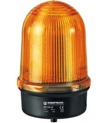 Modul de avertizare lumină continuă Culoare:portocalie IP65 28032068