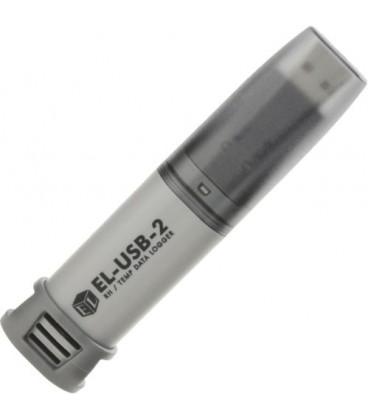 Înregistrator:temperatură şi umiditate -35÷80°C 0÷100%RH EL-USB-2