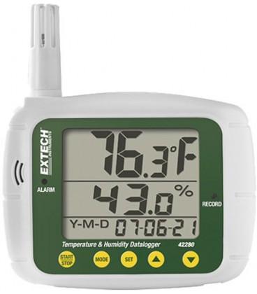 Înregistrator:temperatură şi umiditate -20÷70°C 0÷100%RH EX42280