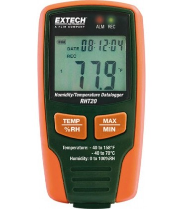 Înregistrator:temperatură şi umiditate -40÷70°C 0÷100%RH RHT20