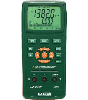 Punţi RLC cu RS232 Extech LCR200