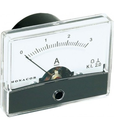 Aparat de măsură de panou analog, domeniu 5A PM2-A005