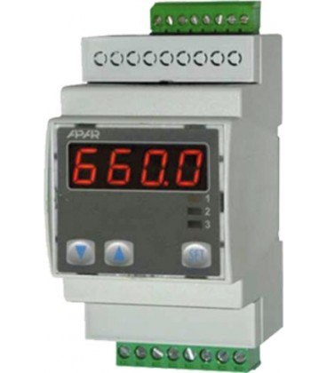 Regulatoare de temperatură cu microprocesor seria AR660 AR660-S1-P-P-WU