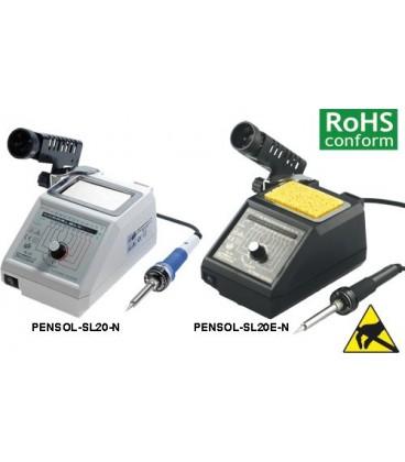 Staţie de lipit analogică 48W 150÷420°C PENSOL-SL20-N