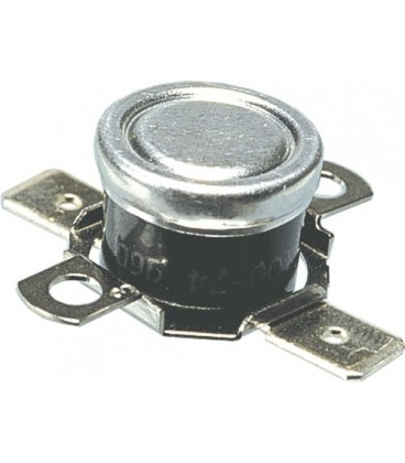 Bimetallic thermostat NC 10A/AC250V, range 90°C/75°C BT-L-090/H