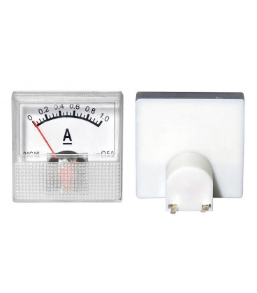 Ampermetru analogic de panou.mini 1A 1977