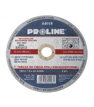 DISC DEBITARE INOX 125X1.2MM / A60S