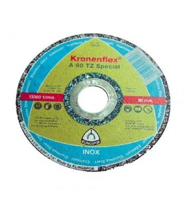 DISC DEBITARE INOX 125X1.0MM / A60TZSPECIAL