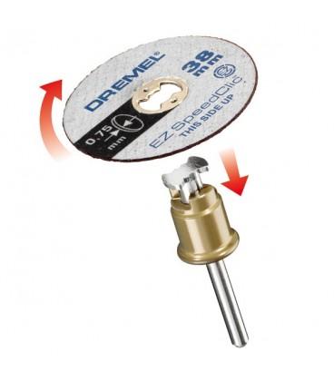 DREMEL® EZ SpeedClic: Discurile de tăiere subţire, pachet de 5 bucăţi. 2615S409JB
