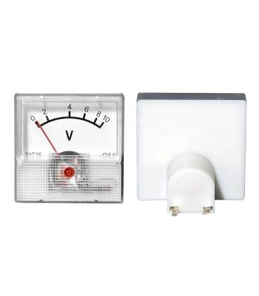 Voltmetru analog de panou.mini Meter 10V 1996