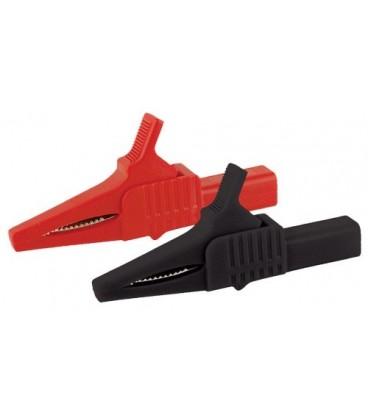Alligator clip UNI-T C02 set - red,black 1kV CATIII CLIP-UNIT-C02