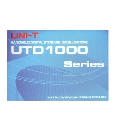 Oscilloscope UNI-T UTD1102C 100MHz handheld
