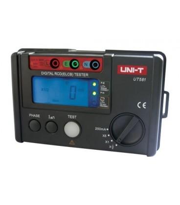 Digital RCD (ELCB) tester UNI-T UT581