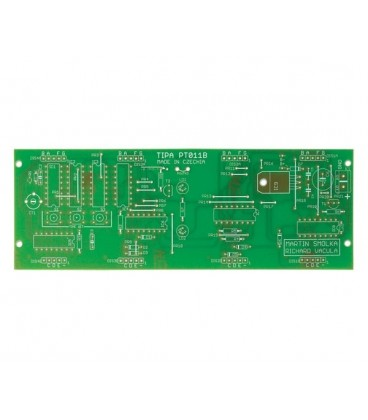 PCB TIPA PT011B CMOS digital clock witch 45mm red LED display