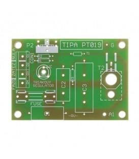 PCB TIPA PT019 Triac regulator 230V/12A