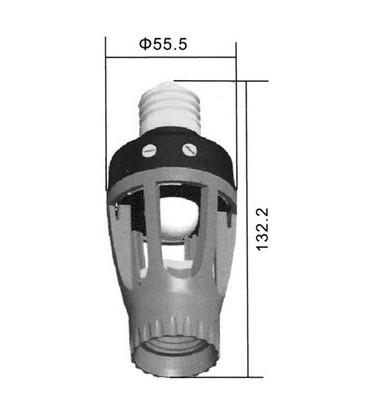 PIR Sensor Lamp Holder- parallel 360° PIR-BEC-360