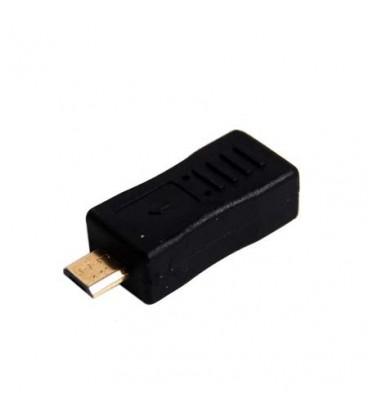 ADAPTOR MINI USB MAMA - MICRO USB TATA ZLA0793