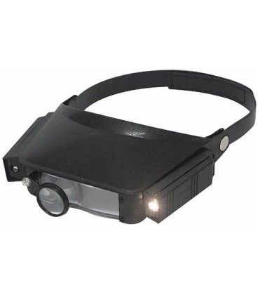 Magnifying lamp with lightning (helmet) HELMETMAGNLED CT-7102