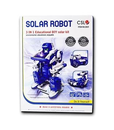 Kit robot solar SolarKit 3 în 1 (Solarbot) CSL2019- produs retras de la vanzare !