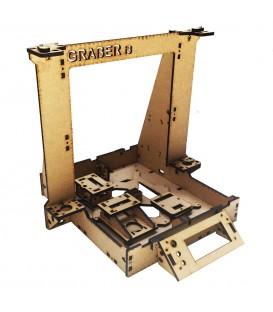 Prusa i3, 3D Printer, Graber i3 laser cut MDF GraberI3-MDF
