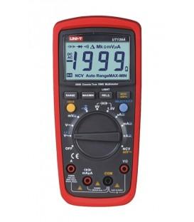 Multimetru digital TRMS cu protecție de intrare de înaltă calitate și tester de baterie
