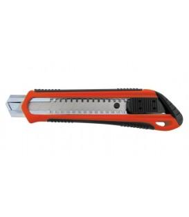 Dispozitivul de tăiere cuțit de 18 mm, cu maner din plastic 06640020