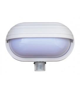 Lampă cu senzor de mișcare Oval PIR-Micro Alb L-OVAL-PIR-Micro-Alb