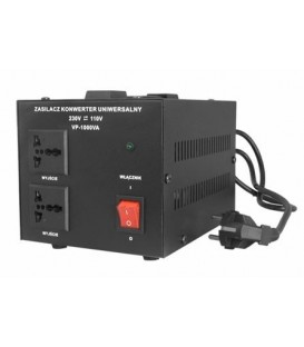 Transformator 220 - 110v AC Putere:1000VA 2 prize iesire VP-1000VA