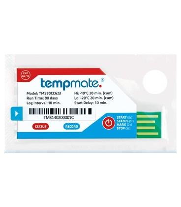 tempmate.®-S1 Single-Use Temperature Data Logger